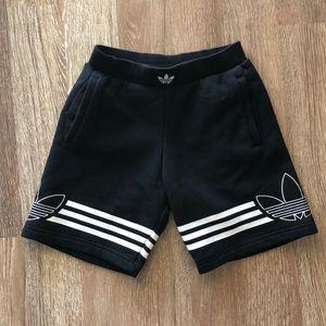 Boys adidas lounge shorts